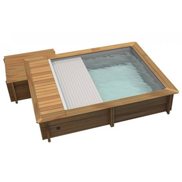 piscine urbaine procopi bwt mypool en bois 4 2 x 3 5 m