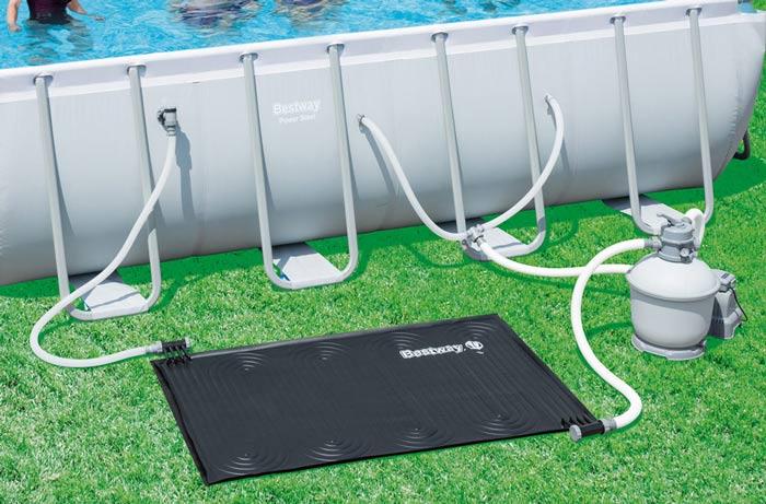 d eau solaire pour piscine bestway
