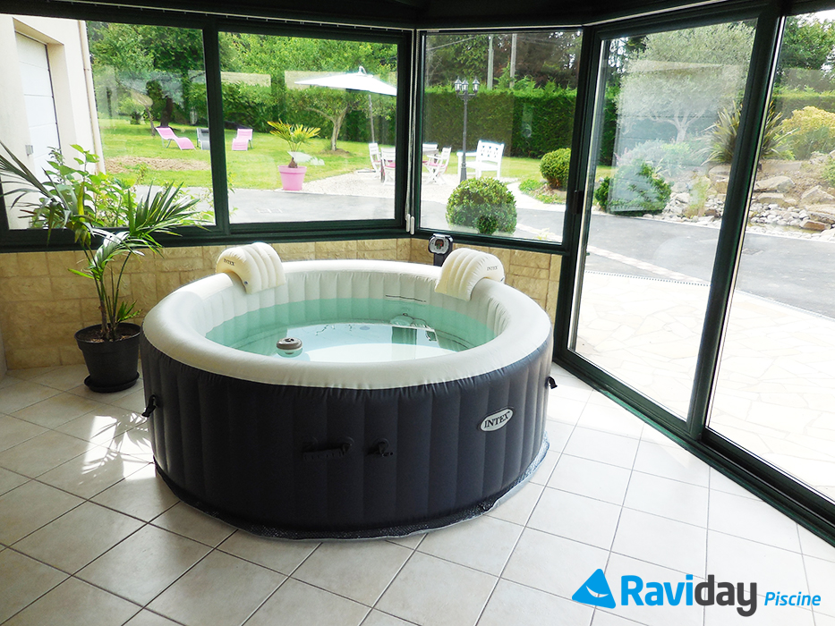 son spa gonflable
