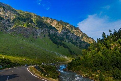 srinagar sonamarg highway