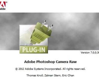 adobe camera raw version