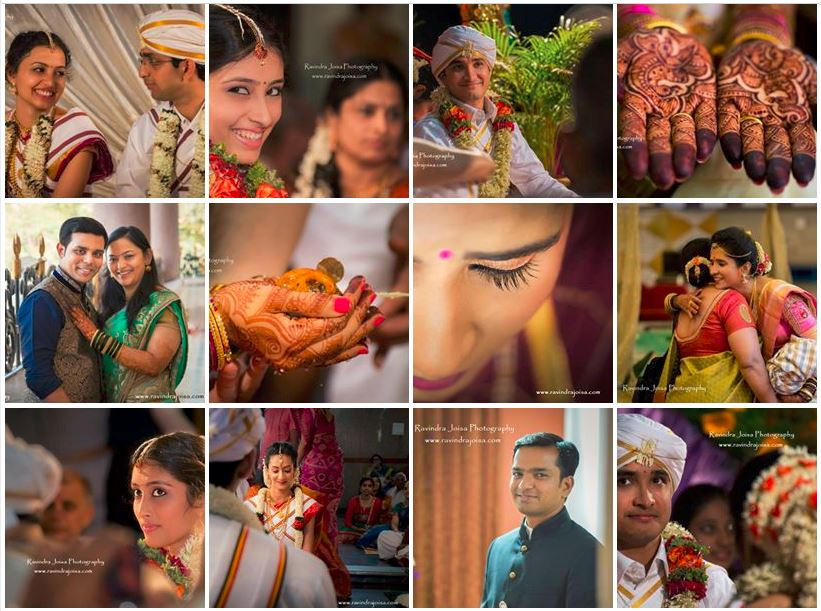 Indian Wedding Candid Shots by Ravindra Joisa