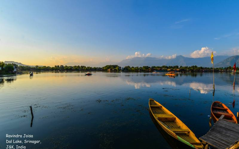 Dal Lake in Kashmir India
