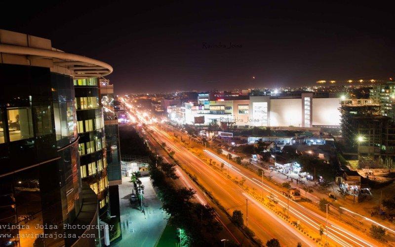 Capture Cityscape during Nightfall