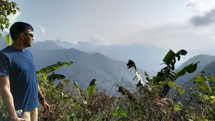Enjoying the Vellagavi Forest view