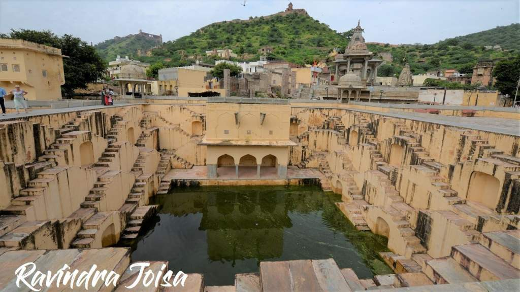 Stepwell at Amber Fort