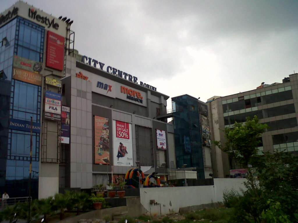City Center Mall in Rohini  Ravi Sagar