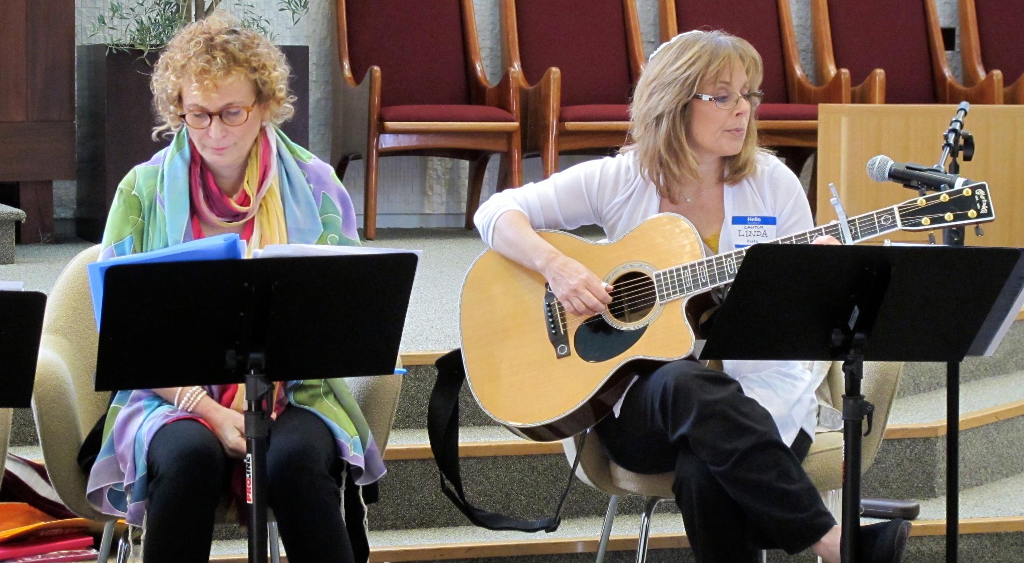 Jill and Linda