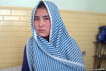 Sabera Afghan girl who was lashed in public for having illicit relations with a boy
