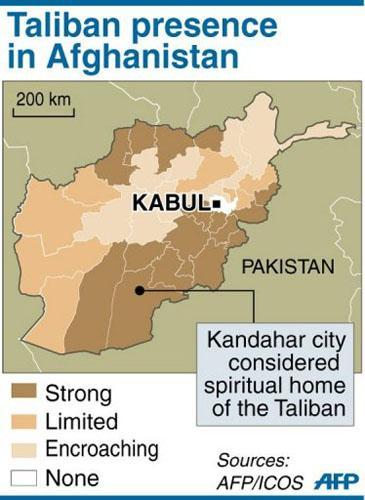 UN maps show security worsening in Afghanistan report