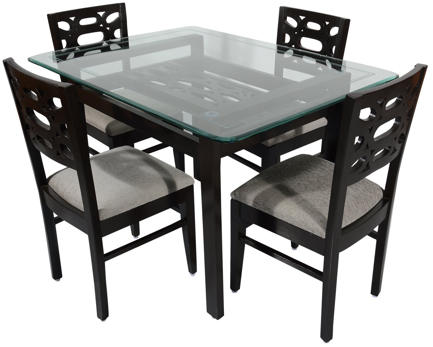 2 seater table and chairs b m black set rawat romania four dining muticolour
