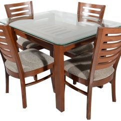 2 Seater Table And Chairs B M Old Barber For Sale Rawat Majestic Four Dining Muticolour 1