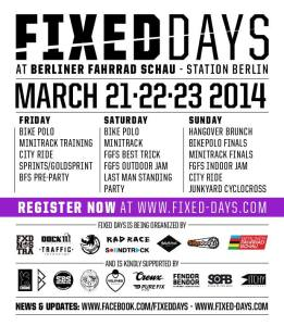 FIXED DAYS 2014