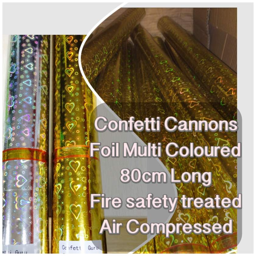 Confetti Cannons Effects.Stunning effects for Parties & Weddings