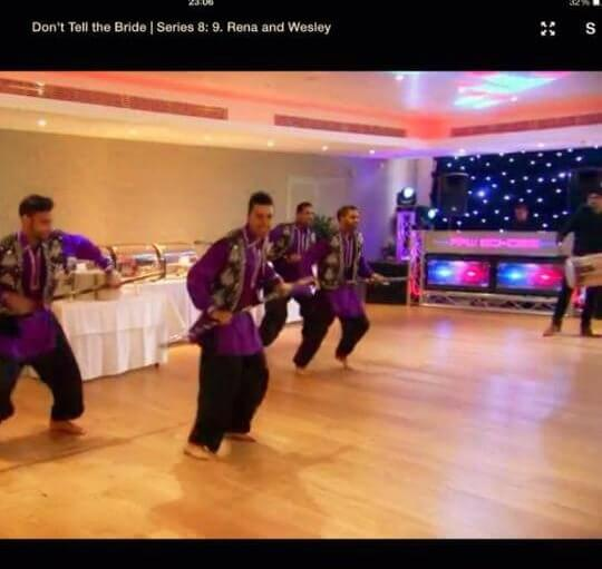 BBC Don't Tell The Bride.A British Indian Wedding, Asian wedding The Lensbury Hotel 07940084117