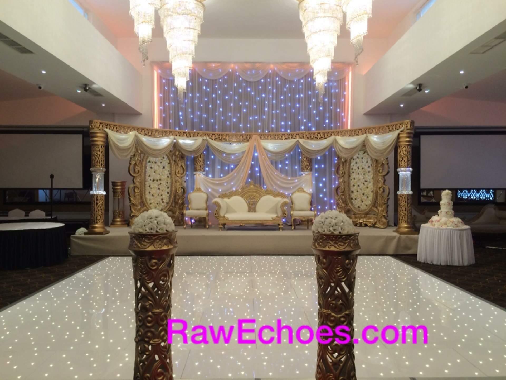 Royal Nawaab Asian Wedding, DJ & LED Dancefloor.