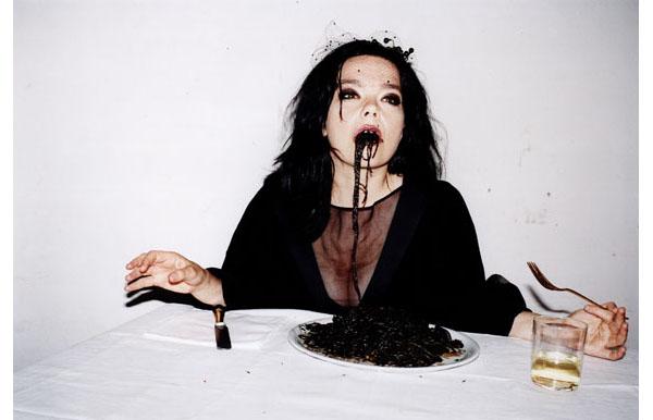 Bjork, spaghetti nero