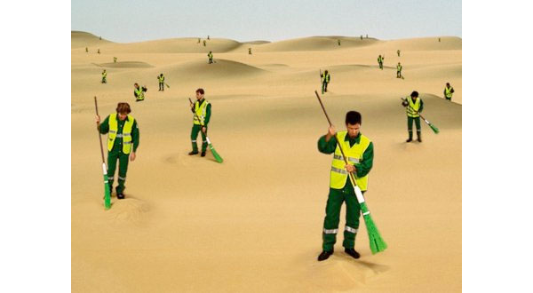 The desert sweepers