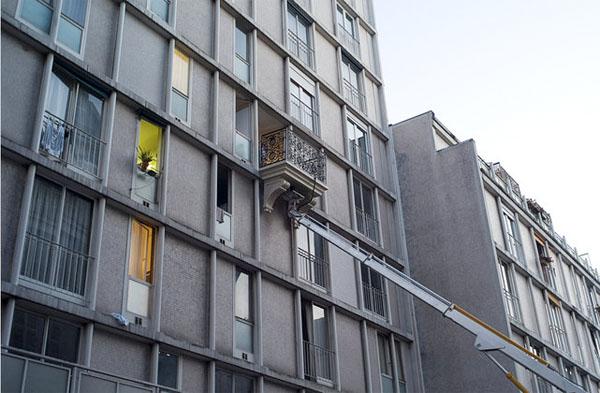 Balcon additionnel