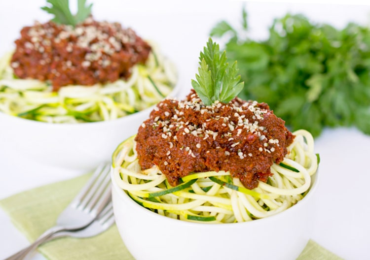 Chunky Hearth-Healthy Marinara for Zoodles