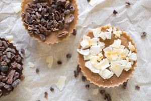 Chocolate Caramel Protein Butter Cups