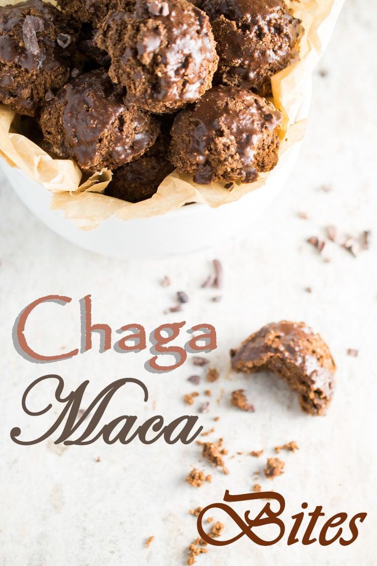 Chaga Maca Bites