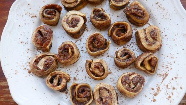 Easy raw vegan cinnamon rolls