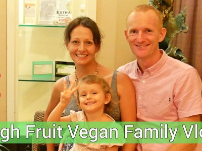What We Ate And Did Today - High Fruit Vegan Family Vlog
