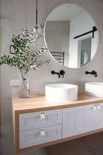 Willow Timber Bathroom Vanity