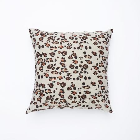 Society Of Wanderers Euro Pillow Case Set leopard print