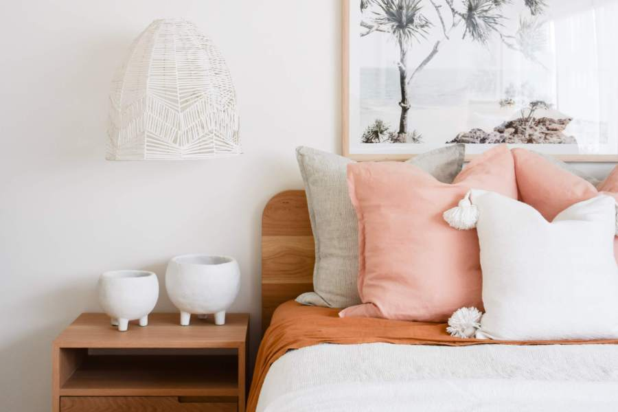 RAW Essentials scandi inspired bedroom style
