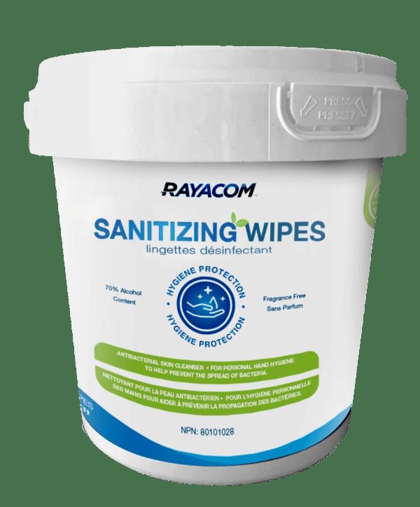 Rayacom sanitizing wipes