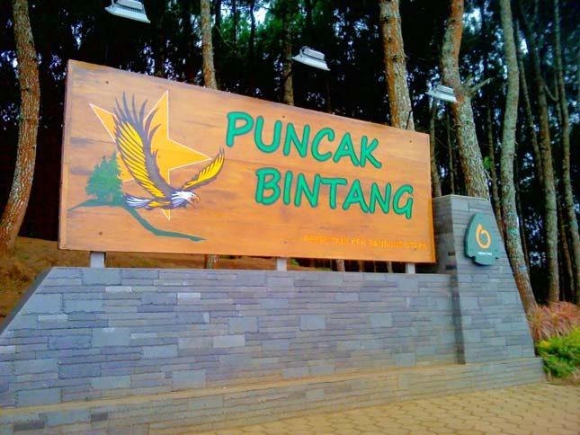 Wisata alam Bandung Puncak Bintang