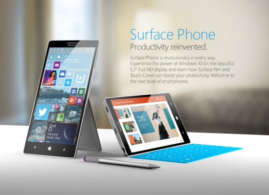 Microsoft Surface Smartphone