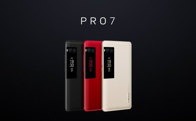 Meizu Pro 7 And Pro 7 Plus With Rear Faced Secondary