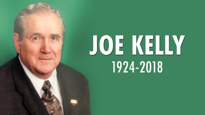 Joe Kelly 1924-2018