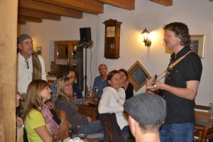 Ray Cooper live at a house concert
