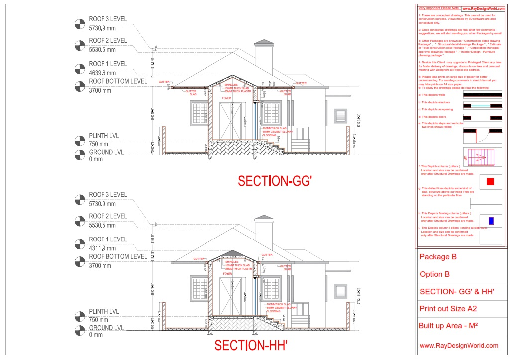 Bungalow Working Drawings - Bishoftu Ethiopia Africa - Mr.Elias Mekasha Goshu