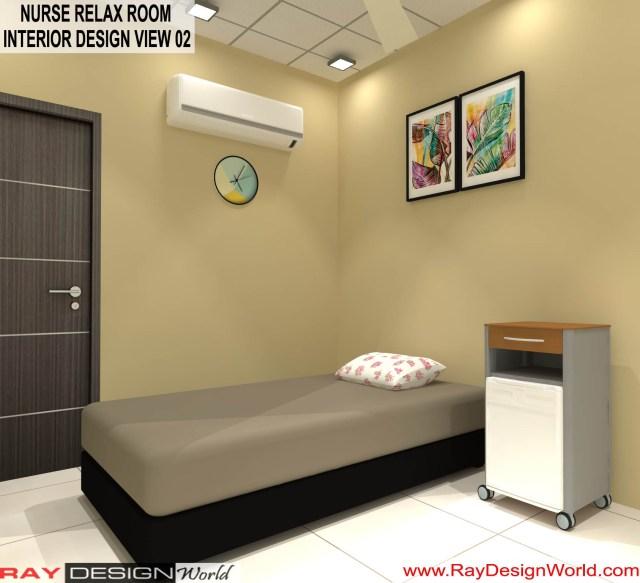 Hospital Nurse Relax Room  Interior Design - Shimoga Karnataka - Dr. Rajeev Pandurangi