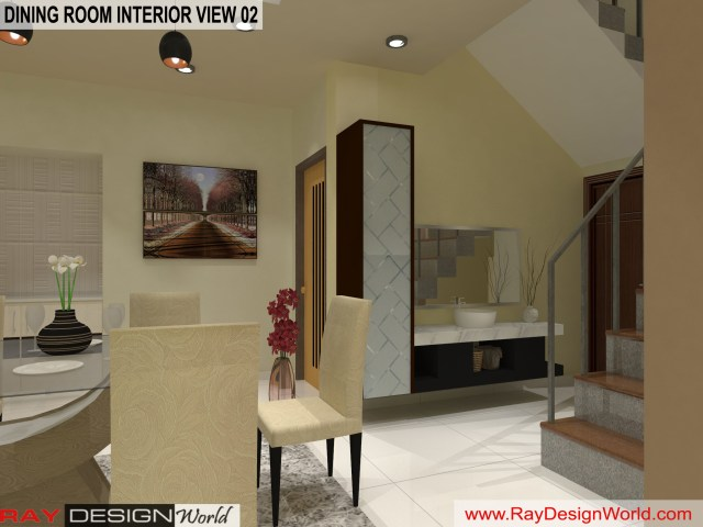 Dinning  Interior Design view 02 - Vadodara Gujarat - Mr.Chirayu Soni
