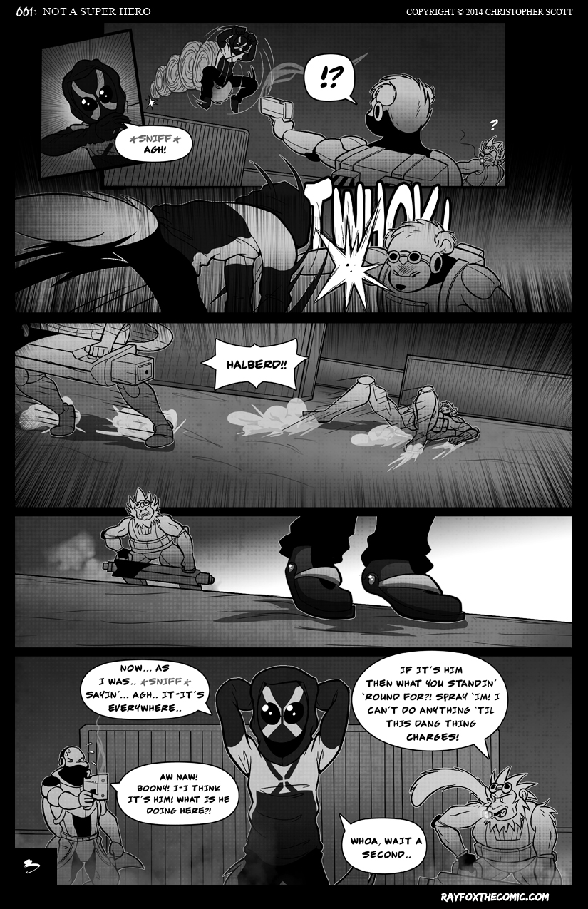 NOT a Super Hero: Page 3