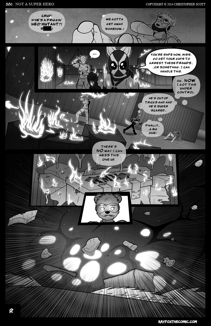 Not a Super Hero: Page 8