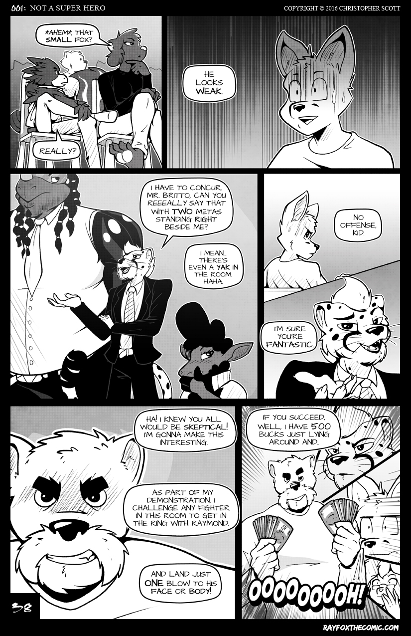 NOT a Super Hero: Page 38