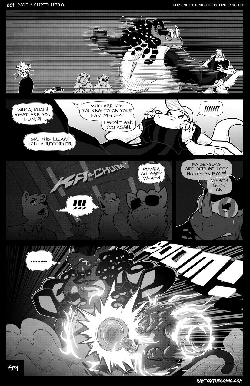 NOT a Super Hero: Page 49