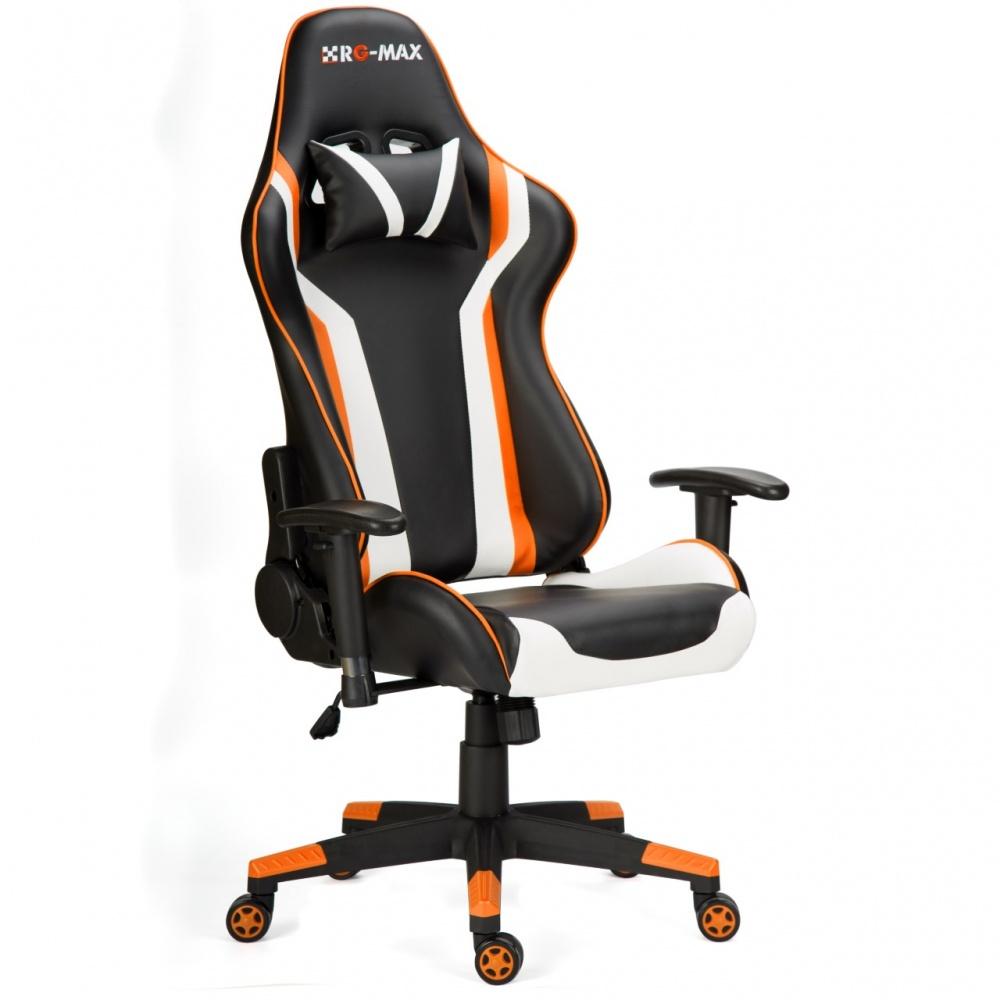 RGMax Gaming Racing Recliner Chair  Orange  www