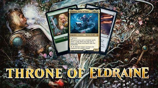MtG Throne of Eldraine Prerelease Sunday