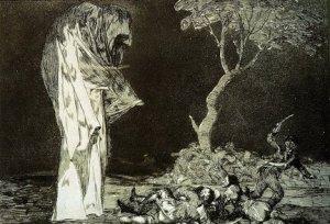 """Francisco Goya, """"Fearfull Folly"""""""