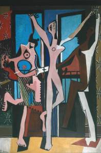 The Three Dancers, Pablo Picasso