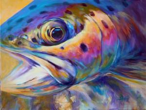 Rap Haiku Fly-Fish Reincarnation Poem