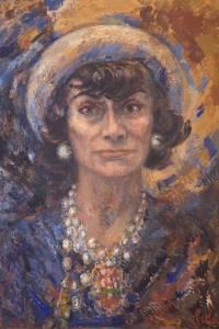 M. Pike New Coco Chanel Portrait